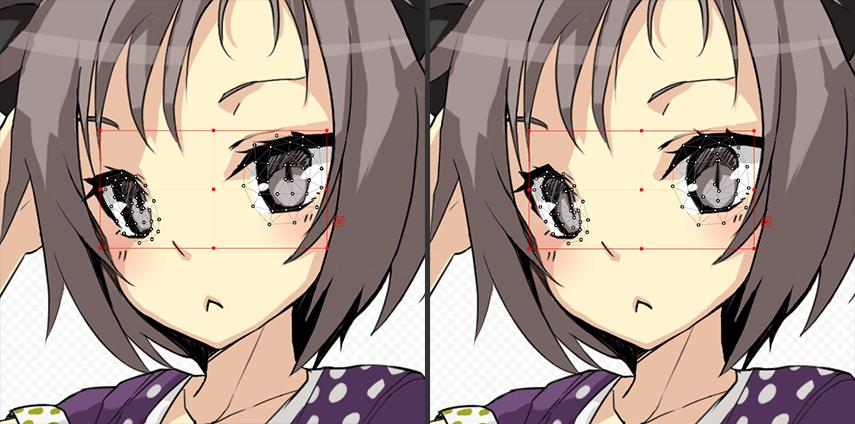 表情:驚き