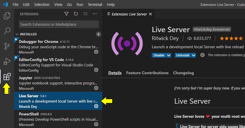 Live Server